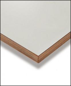 Berken multiplex plank gelakt
